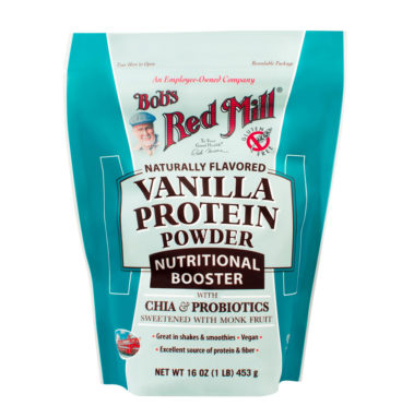 Vanilla Protein Powder Nutritional Booster.453.BOB'S RED MILL